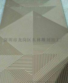 墙面装饰板厂家专业定制立体雕刻板电视背景墙波浪板