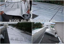 厂家直销双铝双泡隔热保温材料 小气泡铝箔隔热毯 钢结构屋顶隔热反射材料