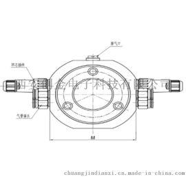 压力式静力水准仪高精密沉降测量相对沉降