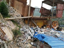 二手日产300吨砂石料生产线47颚式破碎机低价处理