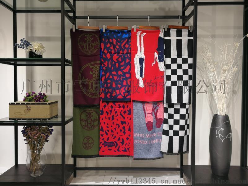 时尚女装羊毛围巾工厂直销