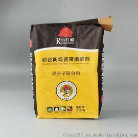 **瓷砖粘结剂彩印覆膜编织袋 复合多层纸袋