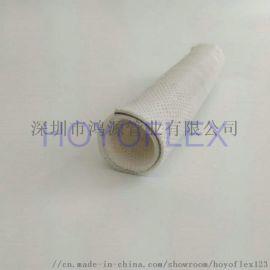 鸿源耐腐蚀卫生级硅胶钢丝管