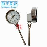 WSS-411耐腐蚀双金属温度计