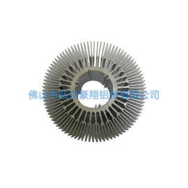 佛山定制太阳花铝型材散热器梳子型散热器厂家