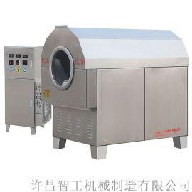 新型电磁加热芝麻炒货机智能控温