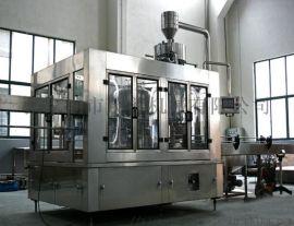 三合一矿泉水液体生产线灌装机 洗瓶、灌装、封口