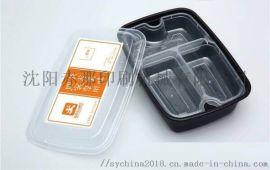 塑料餐盒贴标机 全自动塑料餐具贴标机价格