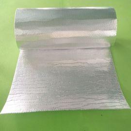 屋顶隔热膜 彩钢瓦钢结构双层铝箔气泡隔热材