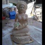 泰式美女雕塑 砂岩雕塑厂家