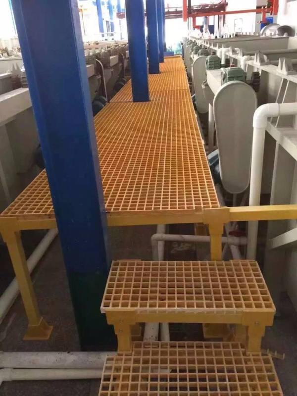 污水處理廠玻璃鋼格柵 玻璃鋼格柵製造廠