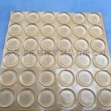 生产直销EPDM玻璃脚垫 透明硅胶防滑脚垫