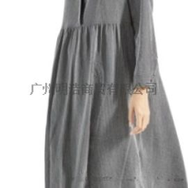 商场**棉麻品牌女装折扣领葳一站式拿货