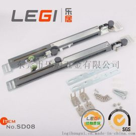 乐居品牌LEGI移门缓冲器滑轮轨道 衣柜定制推拉门 移门阻尼器 滑轮 吊轮缓冲