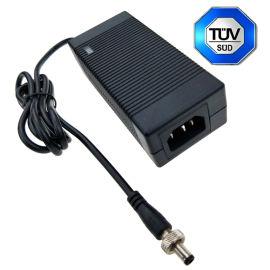 通过ICE/EN/UL62368安全标准认证 12.6V5A锂电池充电器
