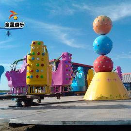 游乐园新型游乐设备 霹雳转盘童星游乐厂家生产销售