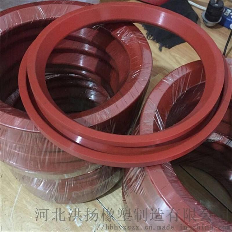 耐高溫圓頂閥密封圈 電廠圓頂閥氟膠圈 圓頂閥矽膠圈
