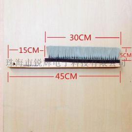 厂家供应特大号防静电毛刷 工业防静电毛刷