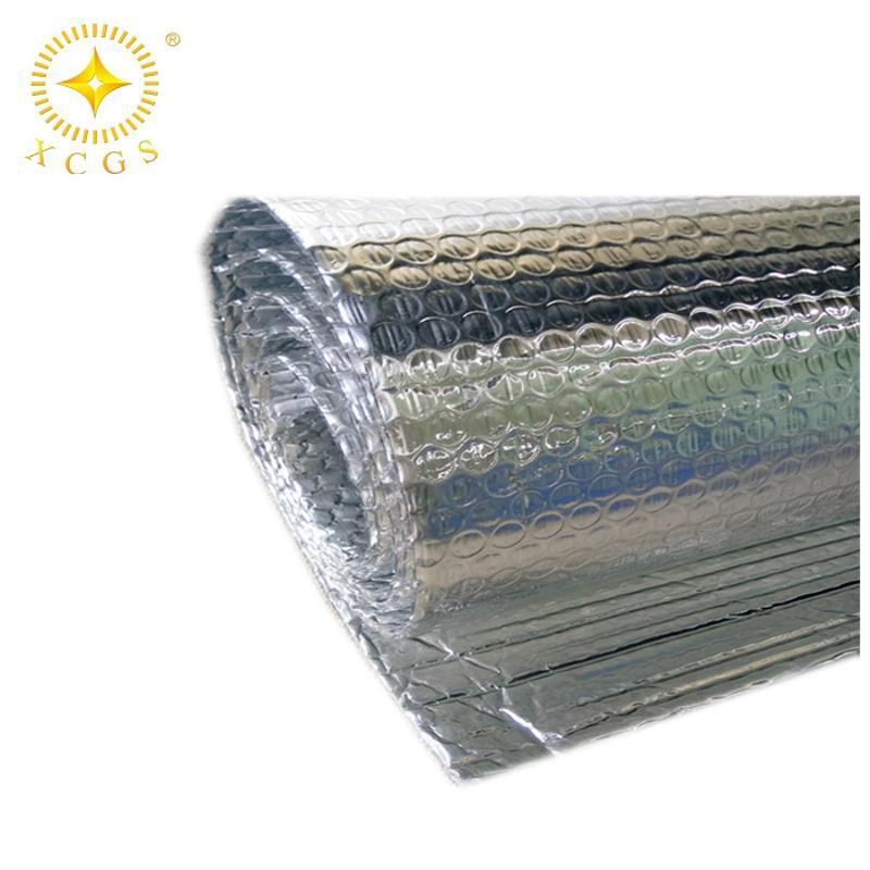 定制无锡市钢结构厂房屋顶施工用小气泡铝箔隔热毯 防水防火保温