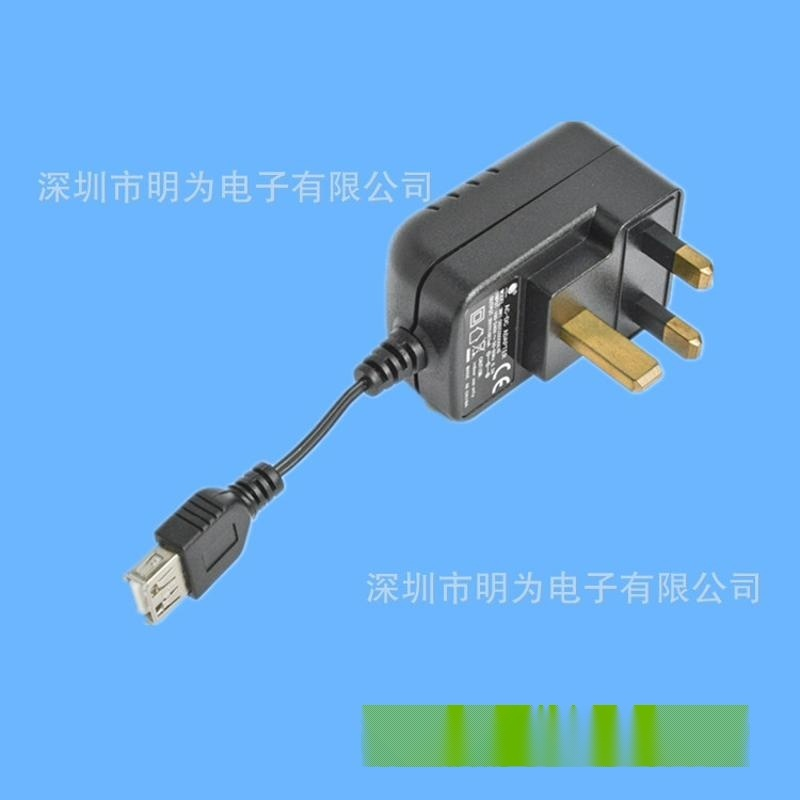 廠家供應IC方案5V1AUSB充電器 電源適配器