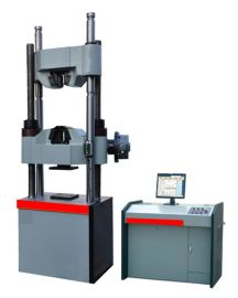供应WAW-300C微机控制电液伺服万能试验机 30T万能材料拉力试验机