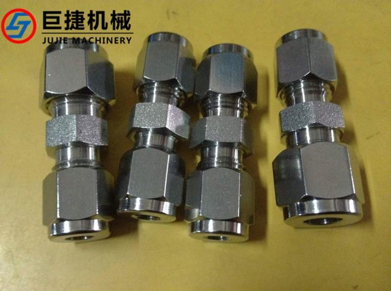现货供应卡套式焊接接头,不锈钢卡套焊接接头 卡套式中间接头