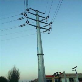 供应郑州铁路10KV电力钢管杆、钢管塔、电力钢杆及电力钢杆基础