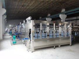 桶装山泉水灌装机 小瓶装生产线设备定量液体饮料三合一灌装机