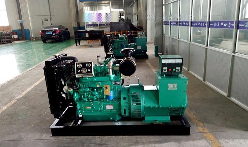 潍柴系列50kw柴油发电机组50千瓦发电机无刷电机三相电全国联保