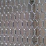 铝板吊顶网 粉末喷涂铝板网 菱形铝板网