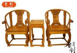 金絲楠木皇宮椅
