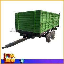 高栏自卸农用拖车 5吨定制 液压后自卸拖车