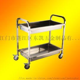 不锈钢收碗车碗碟收纳回收手推餐车