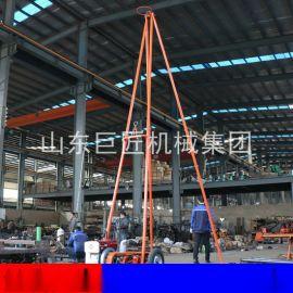 30型工程勘察钻机 巨匠冲击式砂金矿取样钻机