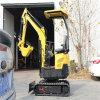 先导控制18型挖掘机 果园迷你微型挖机履带式挖掘机