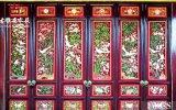 云南四合院门窗厂,精美仿古雕花门窗、门头设计定制