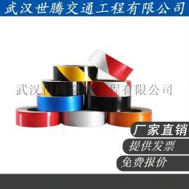 交通标志牌双色黑黄交通反光膜 斜条纹交通反光膜厂家