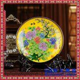 陶瓷大瓷盤 1米大瓷盤 青花手繪瓷盤訂做 logo瓷盤設計