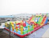 150平方米嘉年华充气大滑梯热销 江西赣州儿童游乐场低投资好项目