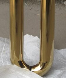 上海彩色不锈钢管 天津304不锈钢钛金管