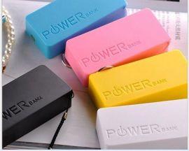 广告促销礼品移动电源 双节香水移动电源充电宝5200毫安