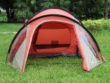 露营帐篷 棕榈滩一房一厅超大空间野营帐篷防雨抗雨