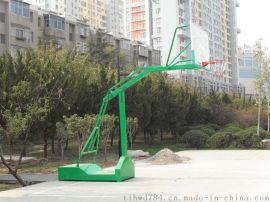 """篮球架生产厂家直销""""晶康牌""""YDQC-10004凹箱独臂篮球架"""