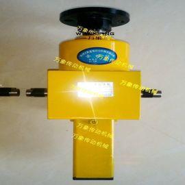 万象厂家SJB系列升降机 高精度滚珠丝杆升降机 小型手摇蜗轮丝杆升降机