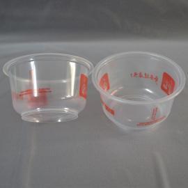 一次性PP450ml—500ml彩印带盖打包塑料碗, 快餐碗