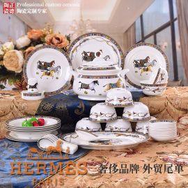 生产釉中骨瓷餐具,生产陶瓷餐具套装