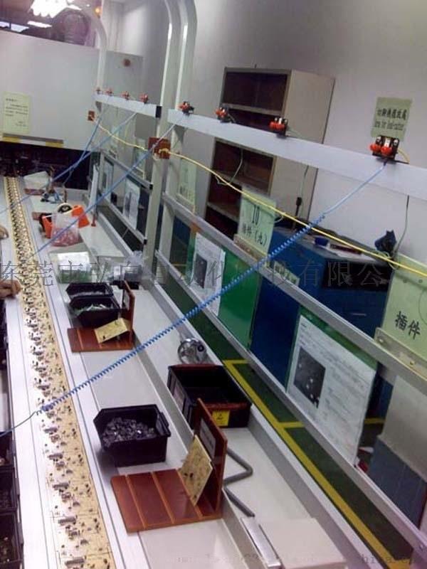 插件流水线 自动插件输送线 电子元件插件流水线
