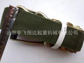 张紧器捆绑带**绿色拉紧器货物捆绑带