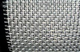 不锈钢轧花网,养猪轧花网,振动筛网 0.45mm