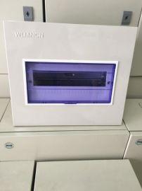 网联强电箱 家用配电箱暗装pz30-24回路单排空气开关照明强箱电